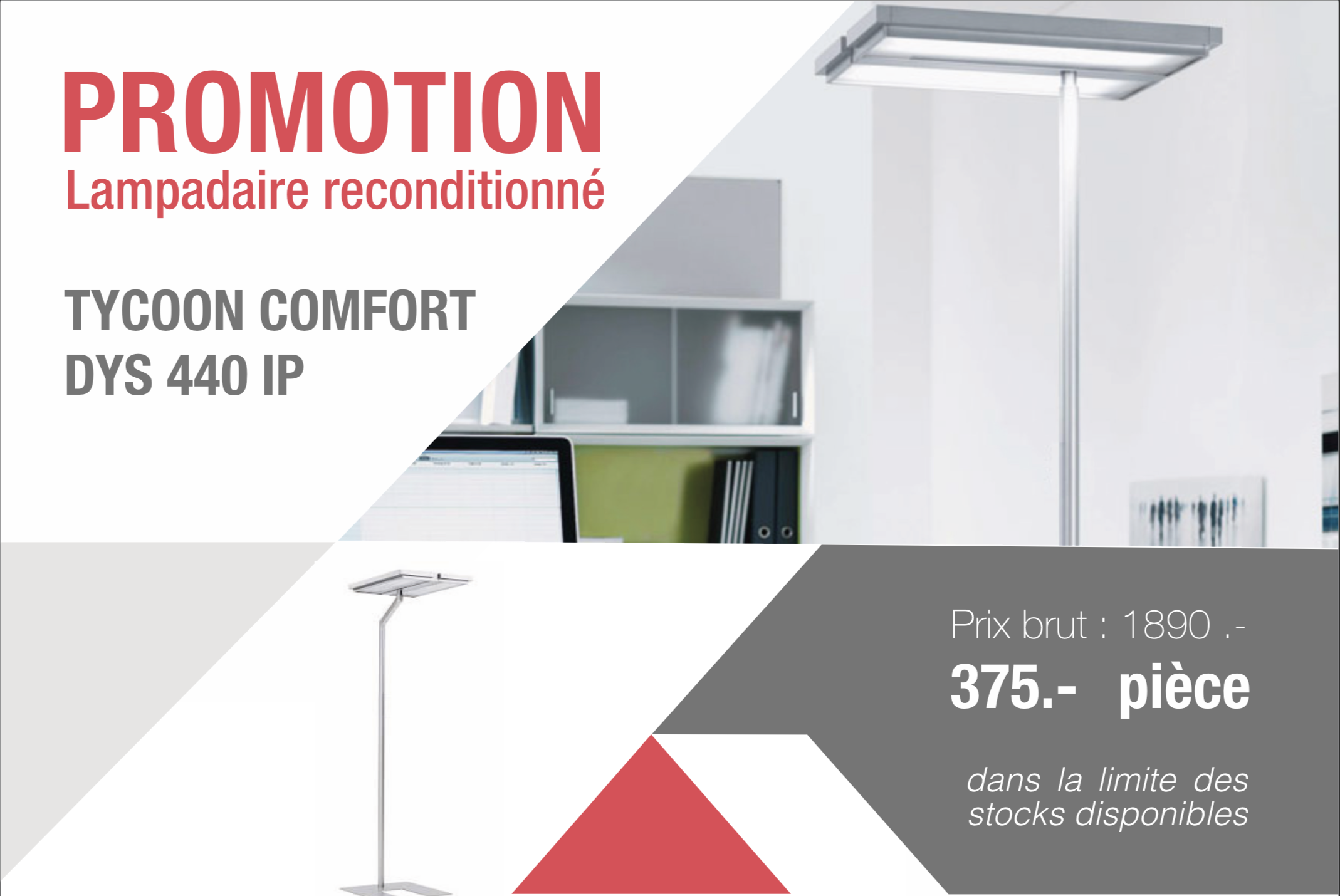 Lampadaire reconditionné Tycoon Comfort dys 440 ip