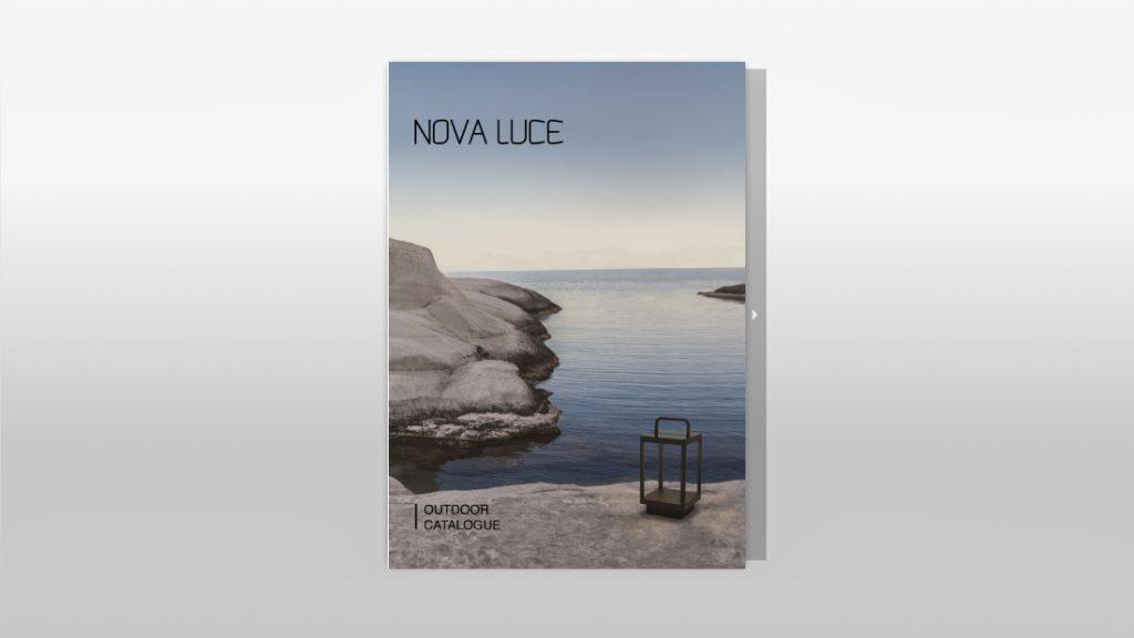 Catalogue extérieur NOVA LUCE disponible chez HD by Griot à Genève